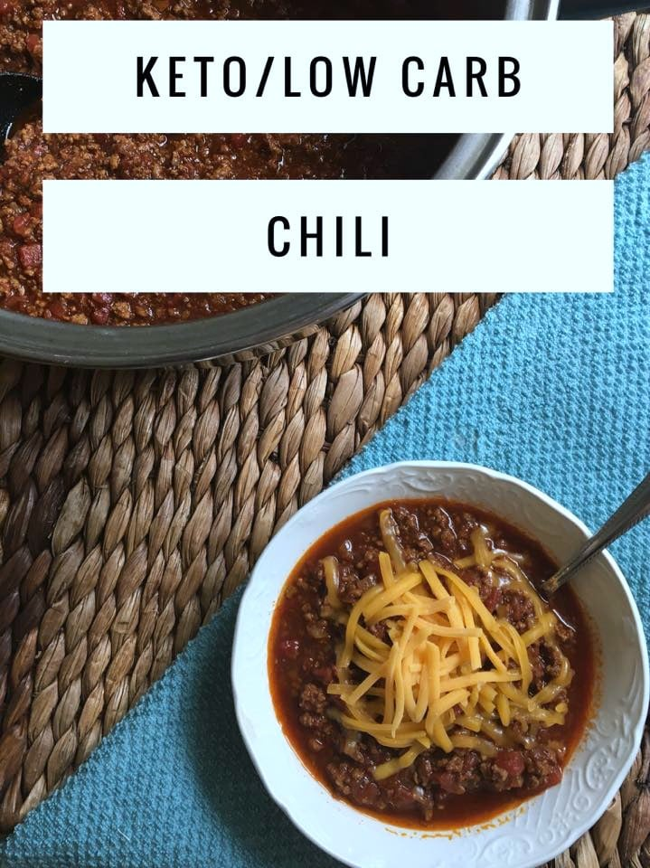 keto low carb chili
