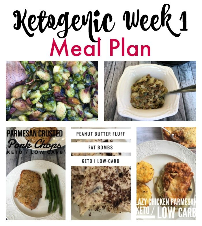 ketogenic week 1 meal plan