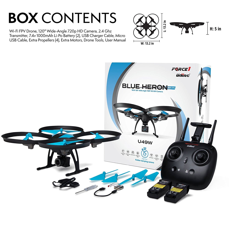 Blue Heron Drone