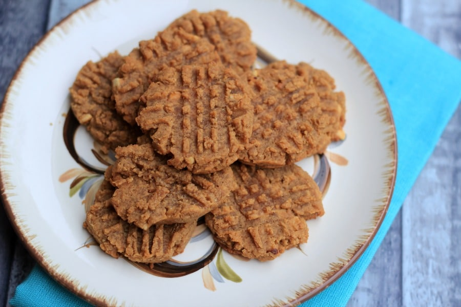 Keto Peanut Butter Cookie Recipe is a great option that is easy to make and delicious. Perfect for that sweet craving you need to satisfy!