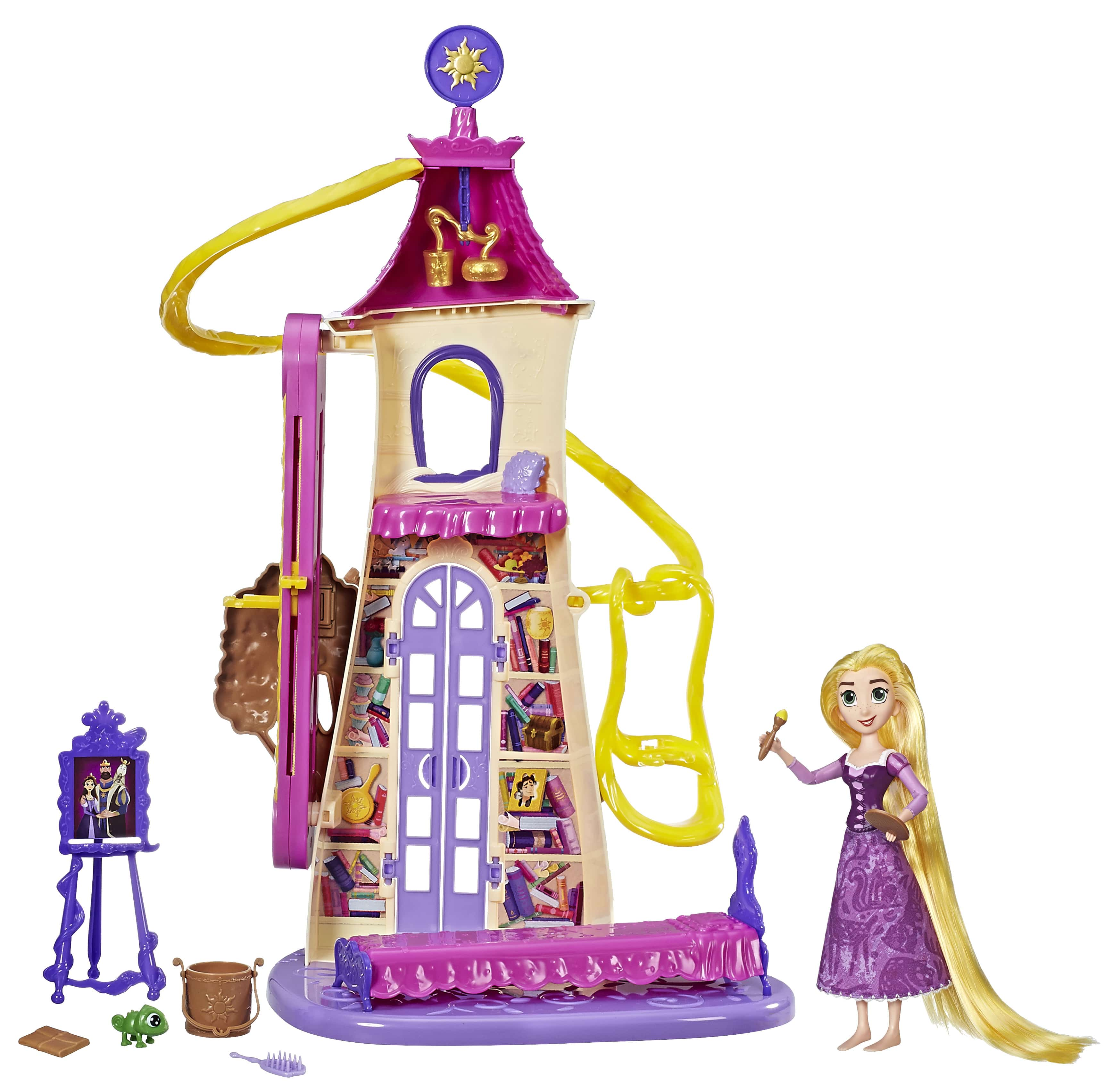Disney's Tangled the Series Swinging Locks Castle Playset