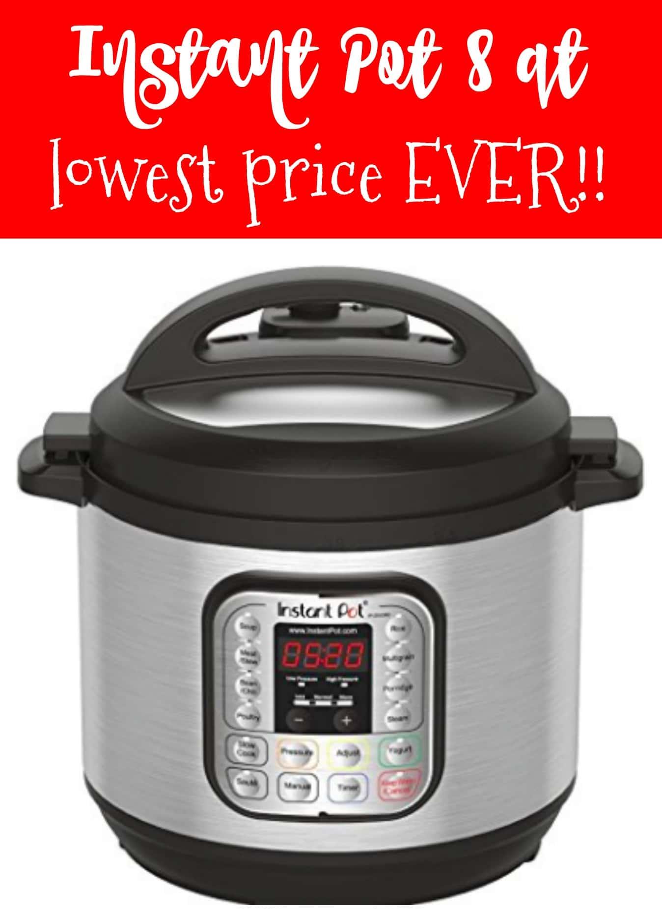 Black Bean Pressure Cooker Instant Pot 8 Qt 7-in-1 LOWEST PRICE EVER! - Kasey Trenum