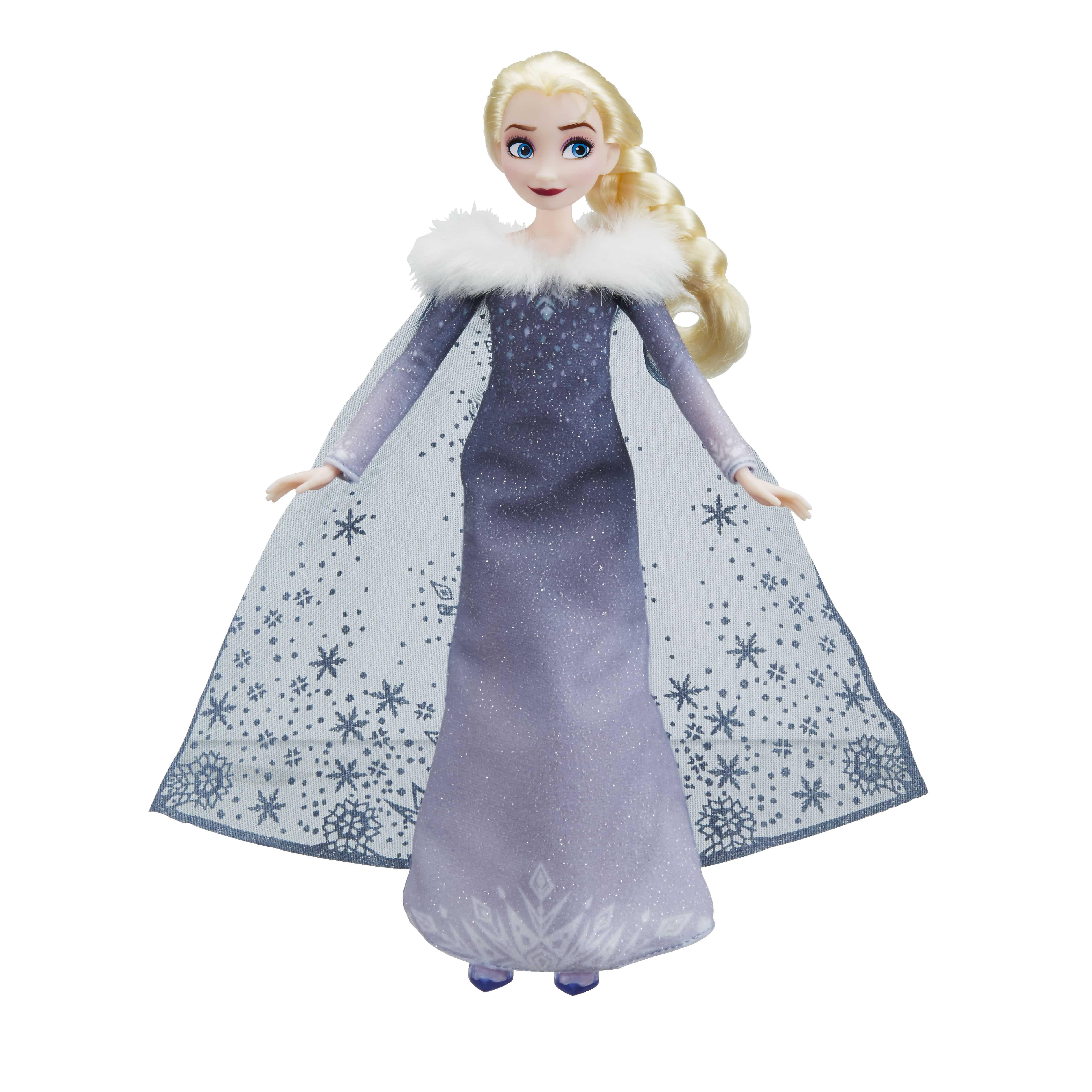 Musical Elsa Doll