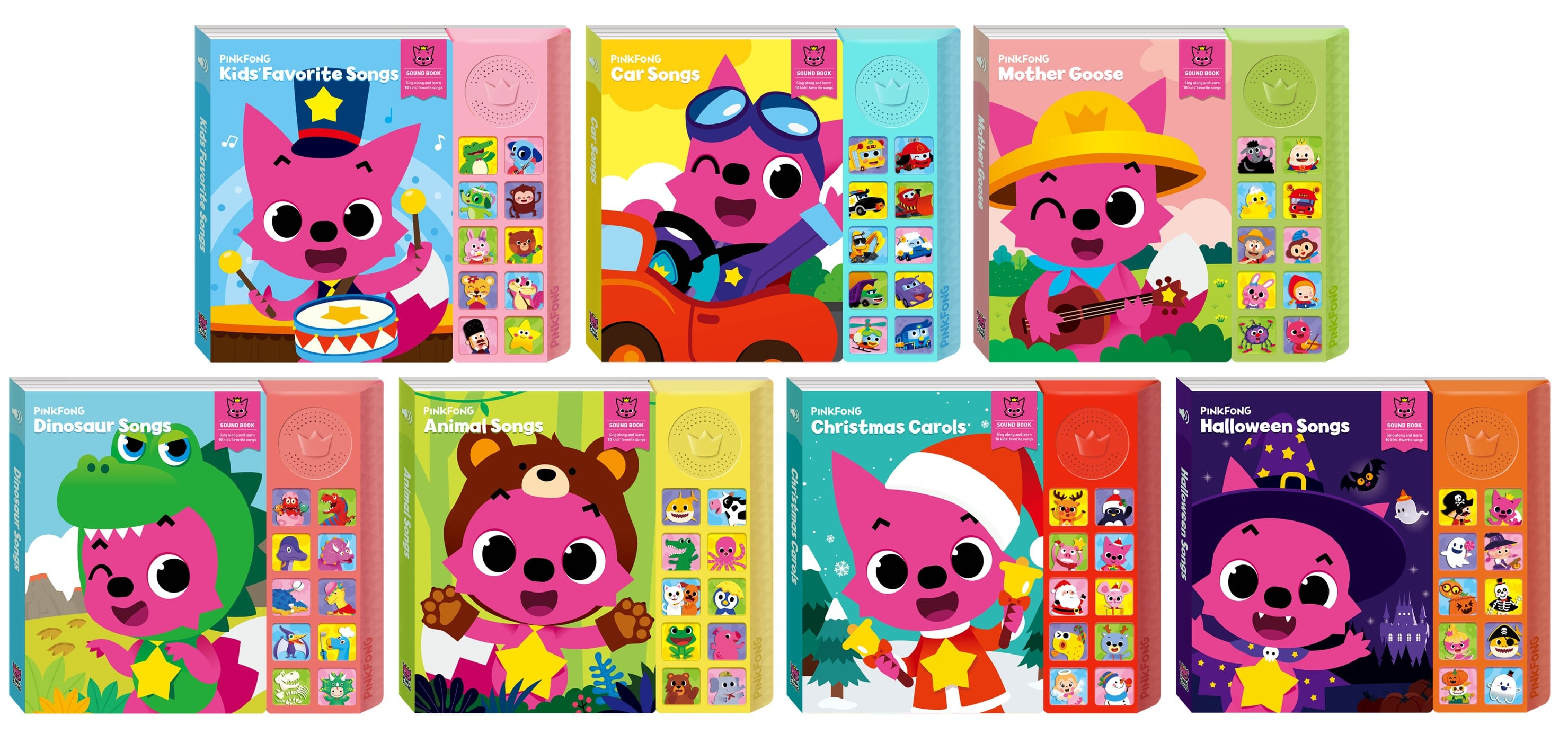 Pinkfong Sound Books 01