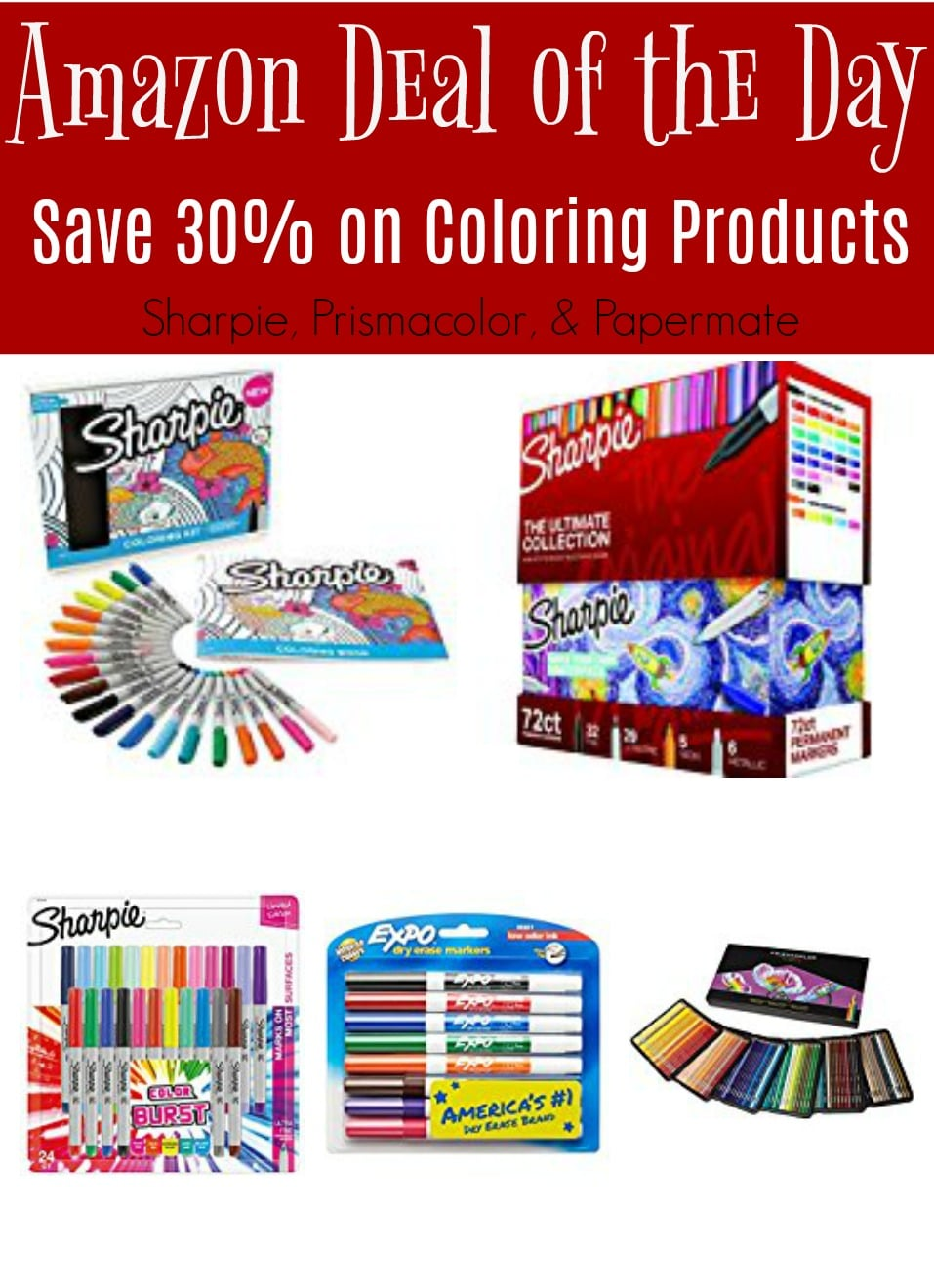 coloring products collage
