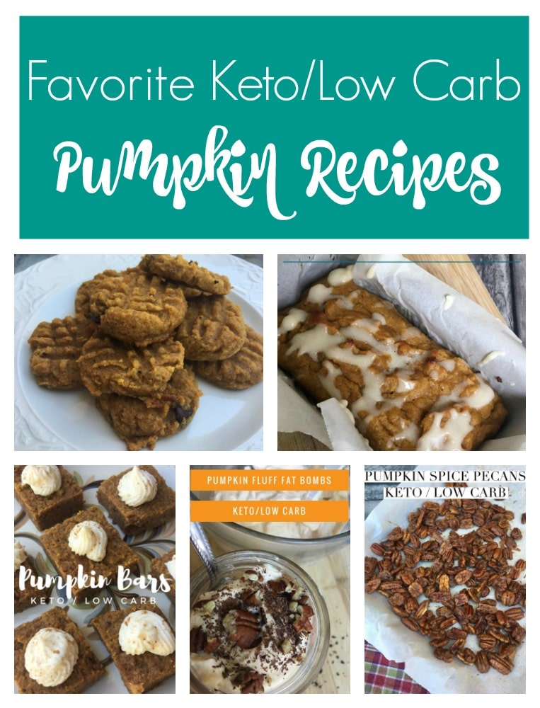Favorite Keto/Low Carb Pumpkin Recipes