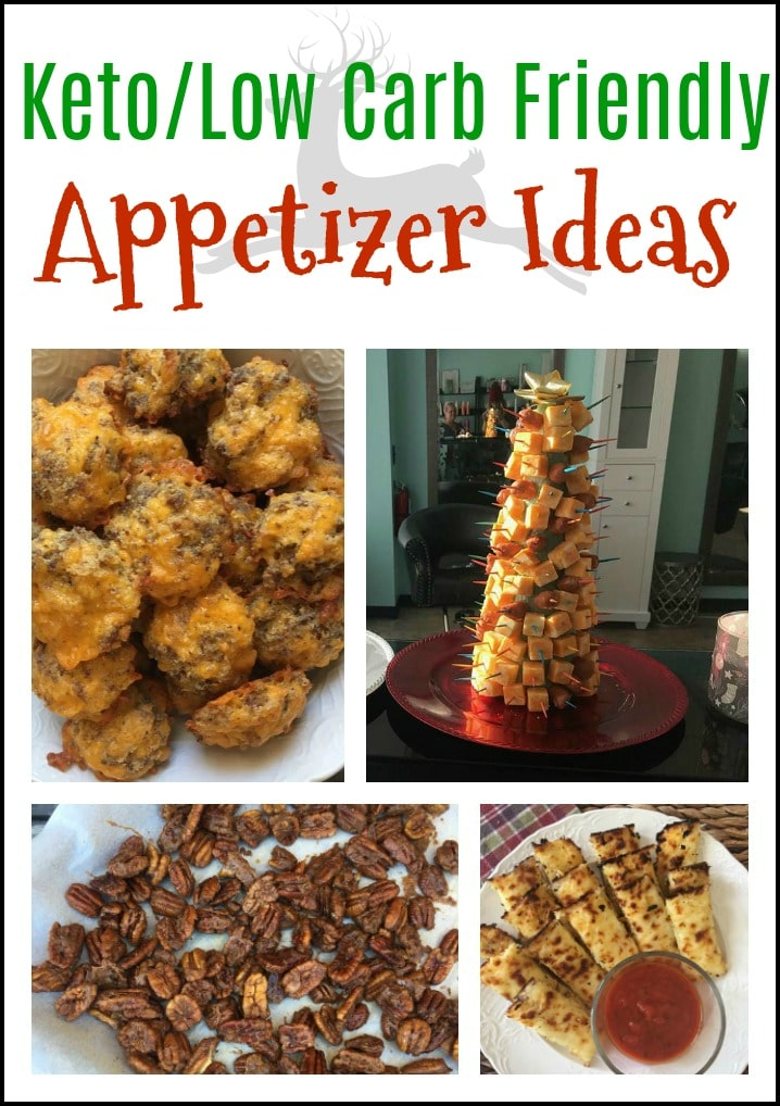 Keto/Low Carb Friendly Appetizer Ideas