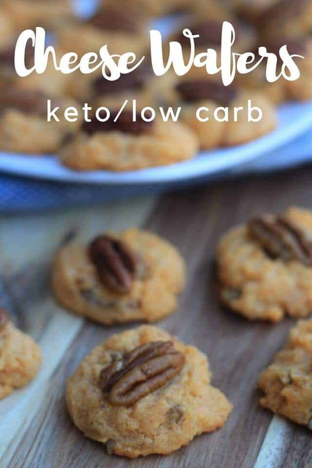 Cheese Wafers {Keto/Low Carb)