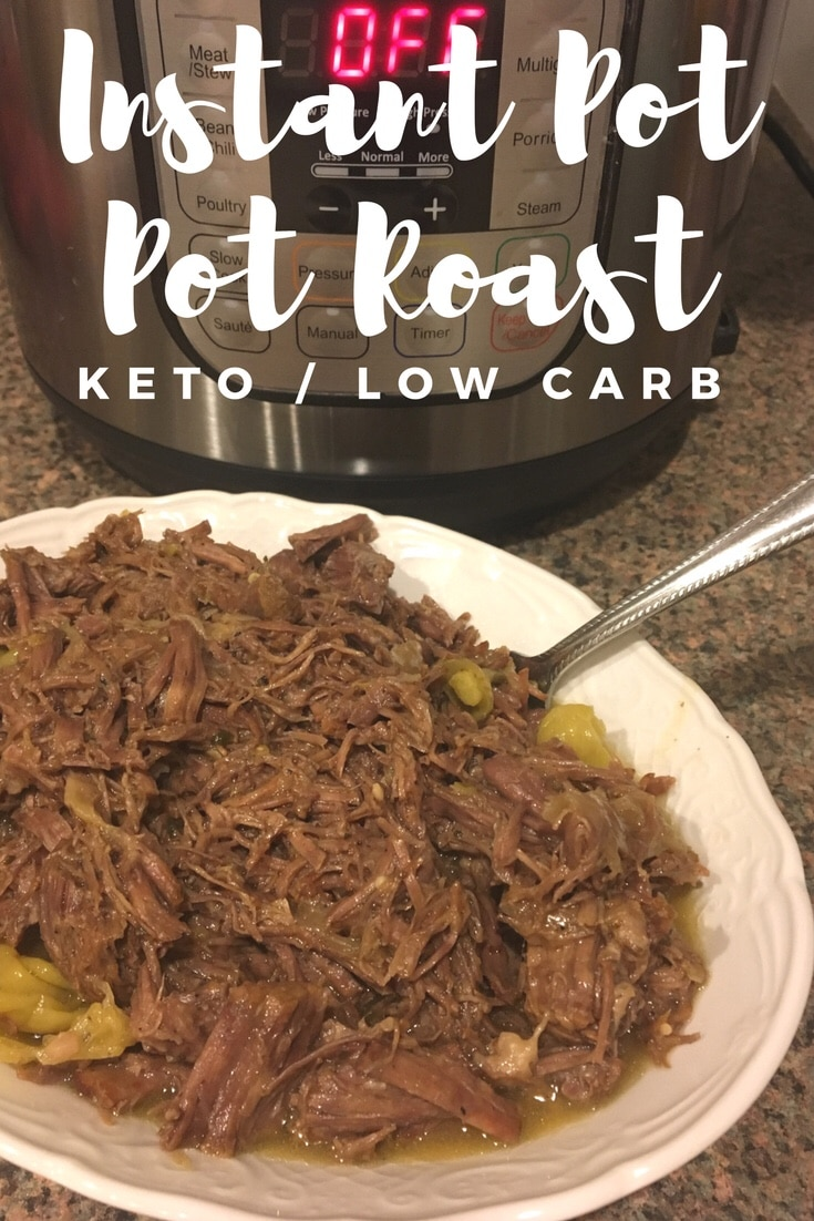 Instant Pot Recipe: Pot Roast {keto / low carb}