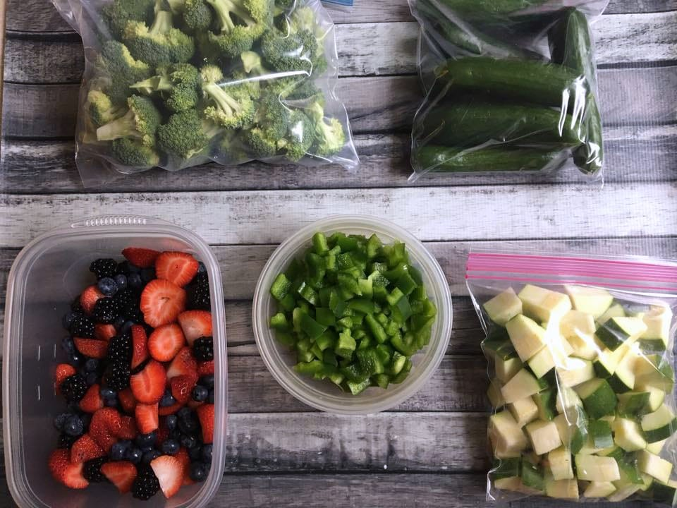 produce prepped