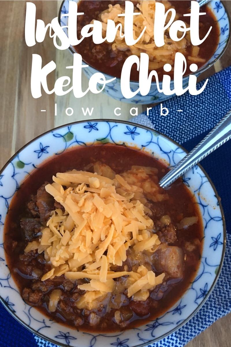 Instant Pot Keto/Low Carb Chili Recipe