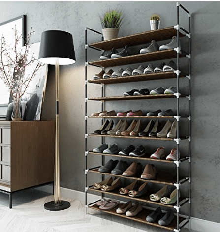 In Need Of A Way To Really Get Your Shoe Closet In Order? This Sable 10  Tiers 50 Pair Shoe Rack Is Perfect For Storing All Your Footwear (even  Hubbyu0027s!) In ...