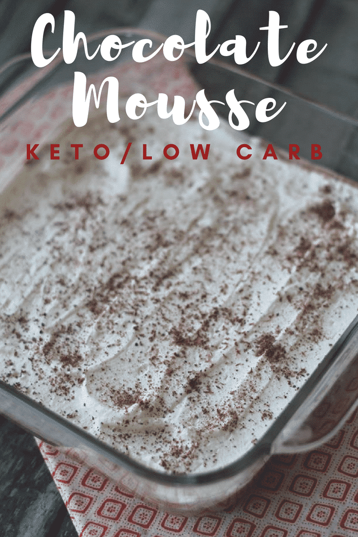 Chocolate Mousse {Keto / Low Carb}