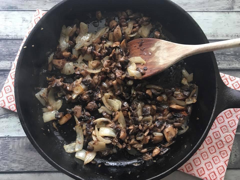 Chicken & Mushroom Step 2