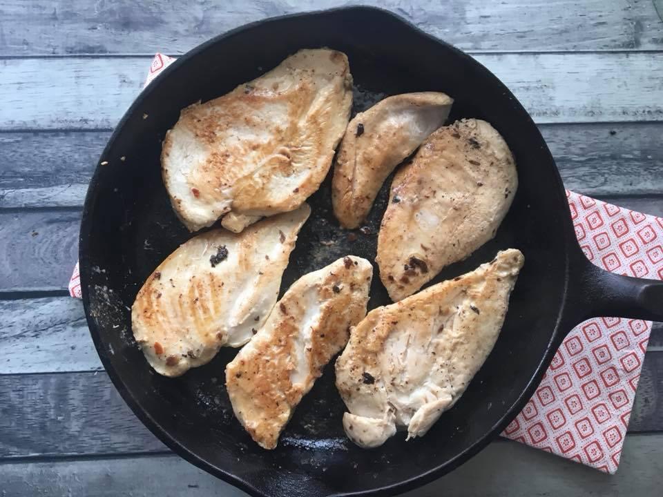 Chicken & Mushroom Step 3