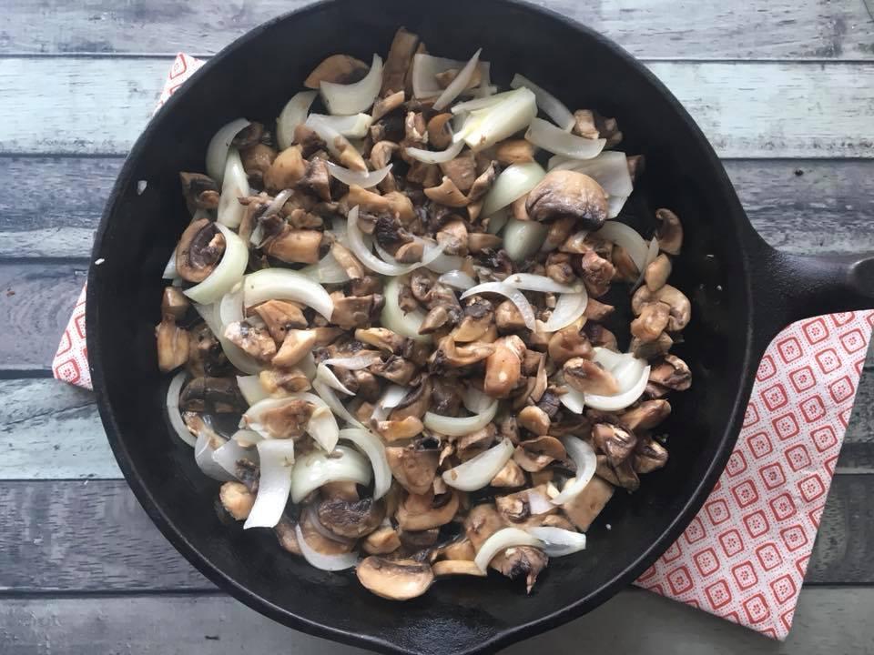 Chicken & Mushroom step 1
