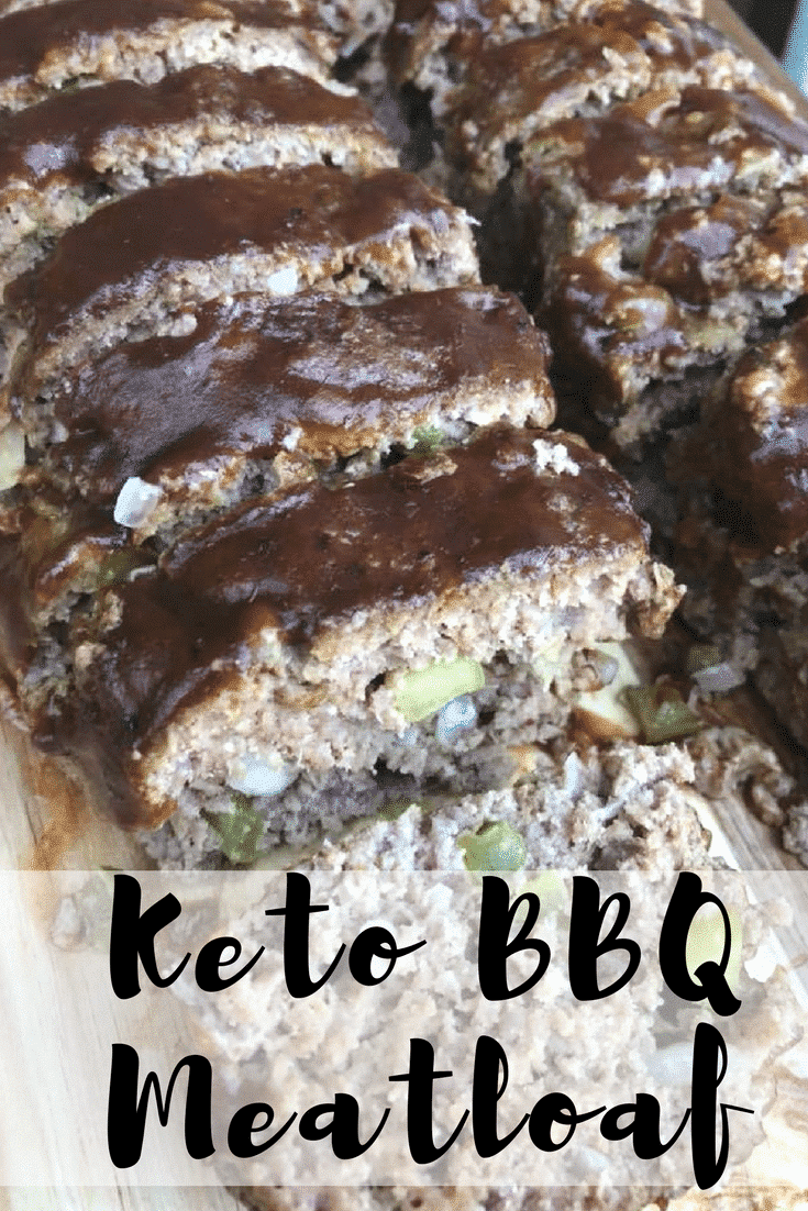Keto/Low Carb BBQ Meatloaf