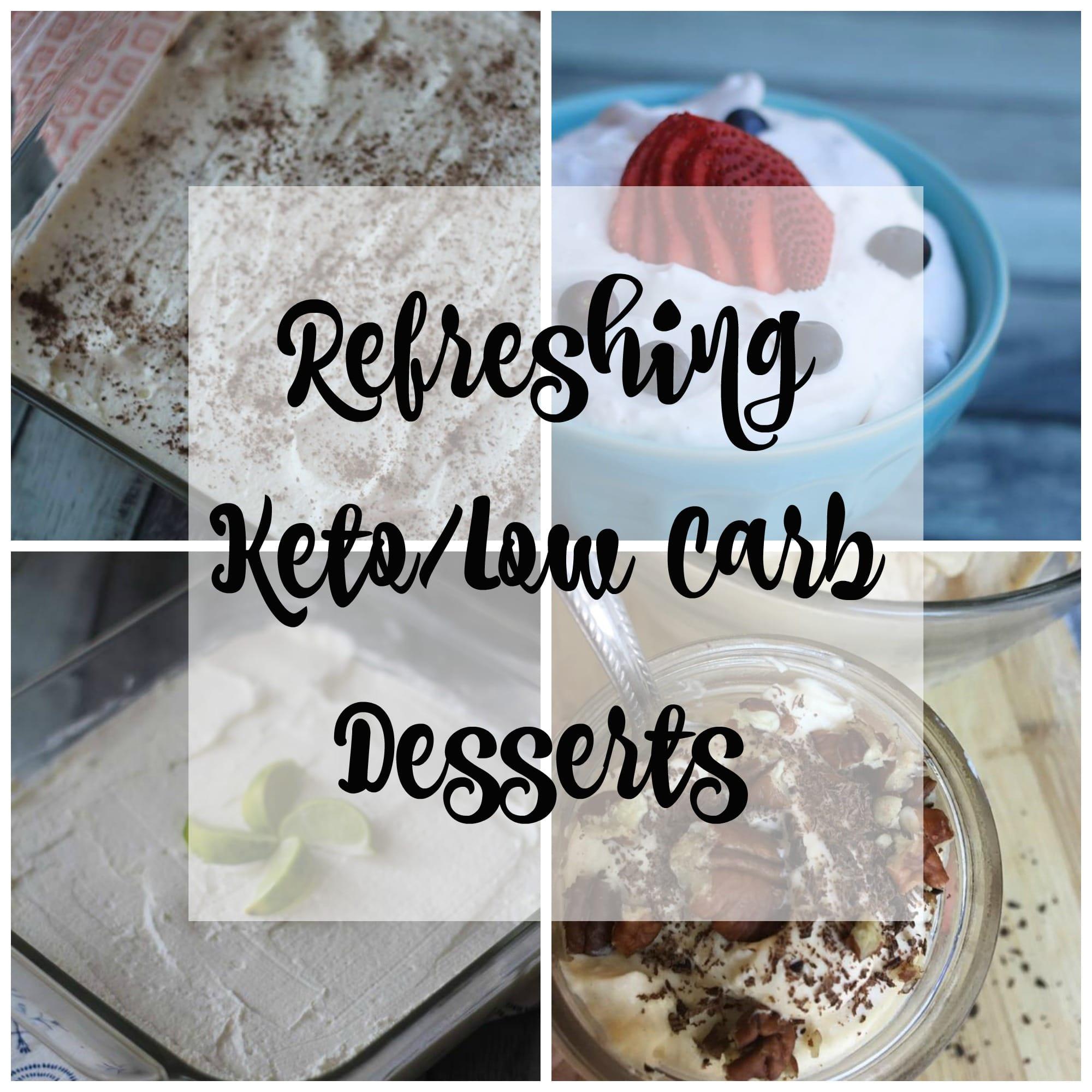 Refreshing keto low carb dessert ideas