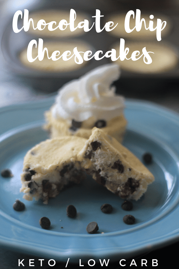 Keto Chocolate Chip Cheesecake Muffins {Low Carb Friendly}