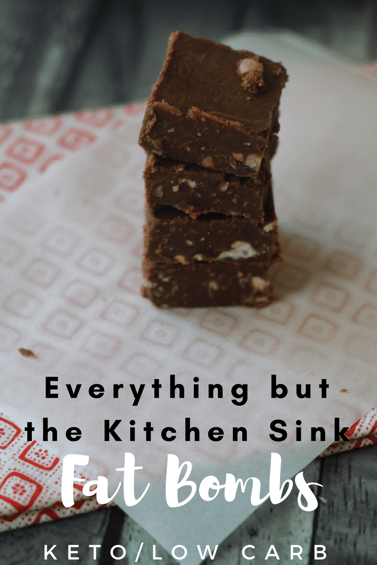 Everything But the Kitchen Sink Keto Fat Bomb Recipe is a perfect way to satisfy your salty and sweet craving! These are so delicious and easy to make!