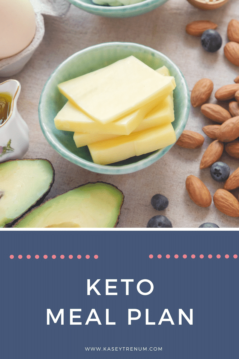 Keto/Low Carb Meal Plan
