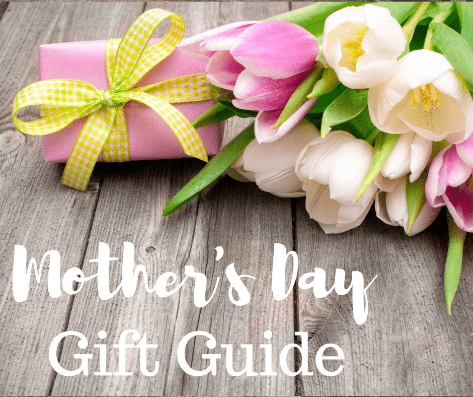 A picture of flowers and a gift for Mother's Day Gift Guide
