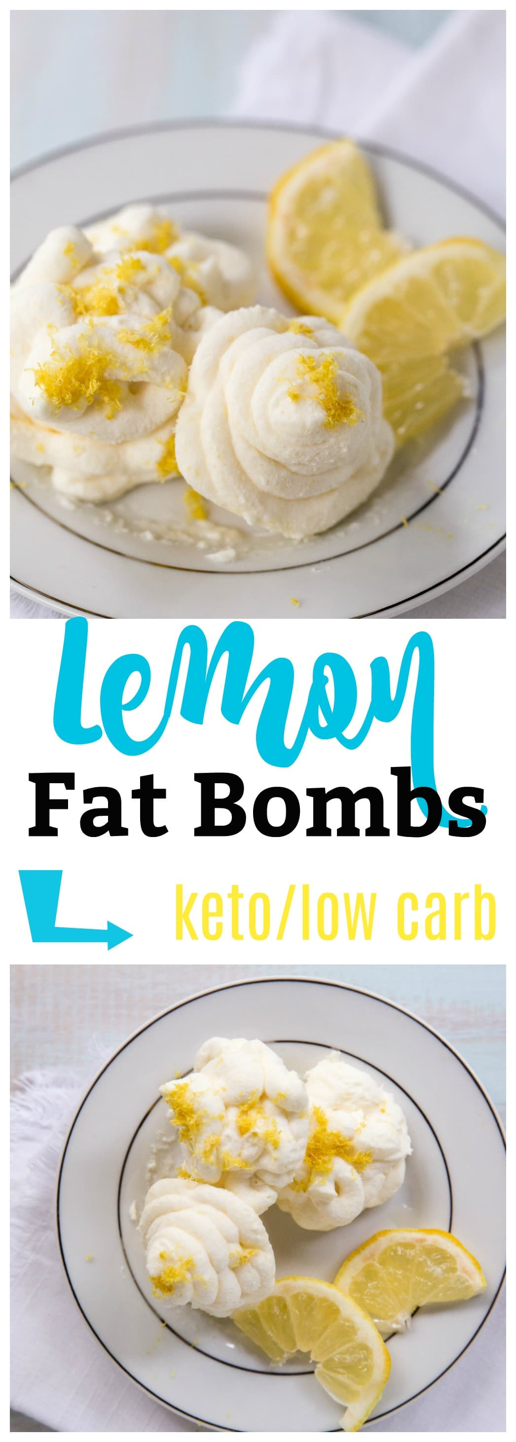 My Easy Lemon Keto Bomb Recipe is going to become a new favorite. Ready in minutes, it is delicious, light, flavorful, and packed with healthy fats!