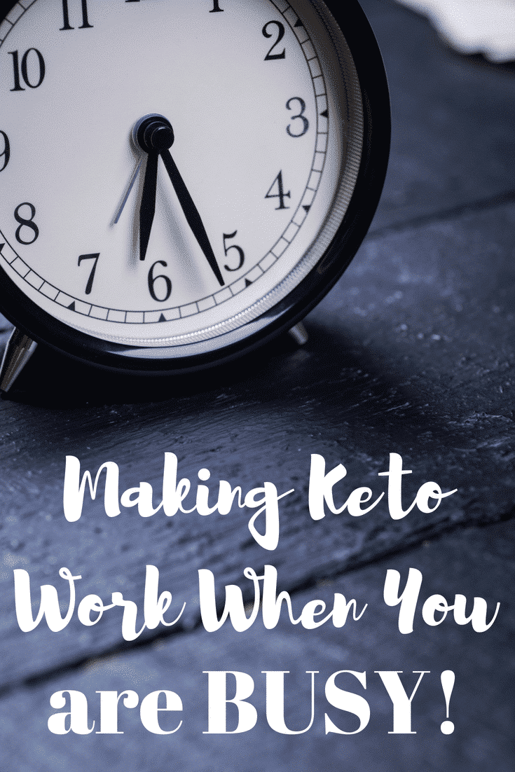 How to Make Keto Weight Loss Work When You are Busy!  Check out my tried and true tips for conquering the keto weight loss journey while being a busy mom!