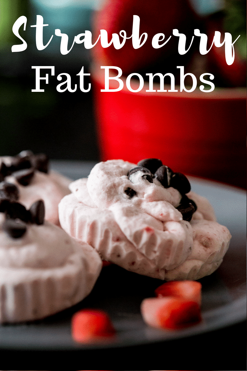 Strawberry Fat Bombs