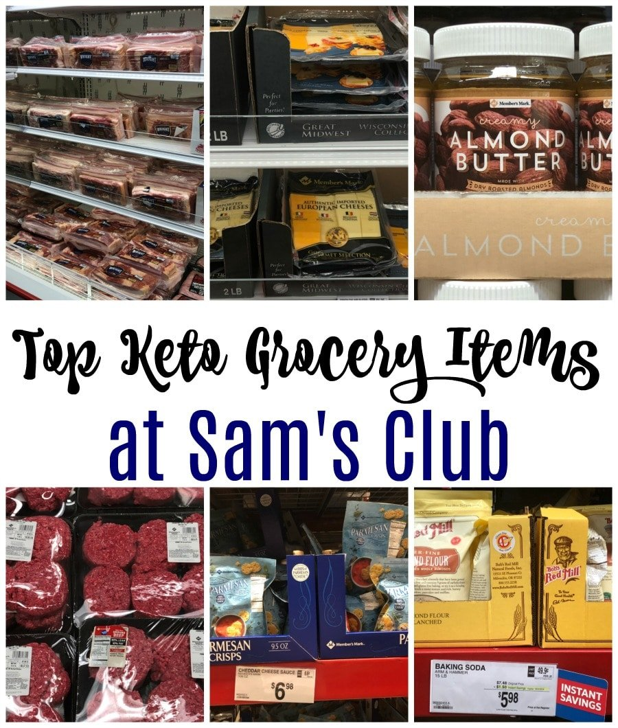 Top Keto Grocery Items at Sam's Club