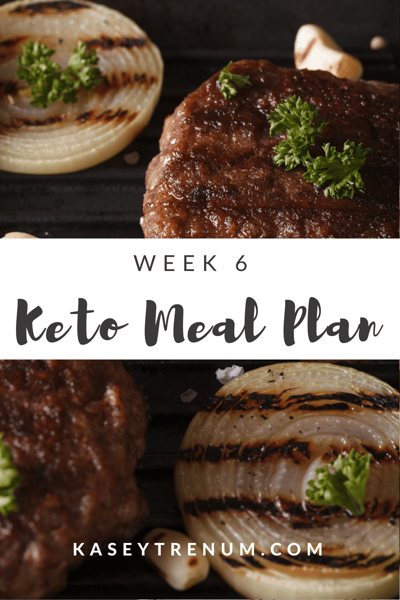 Keto Meal Plan #6
