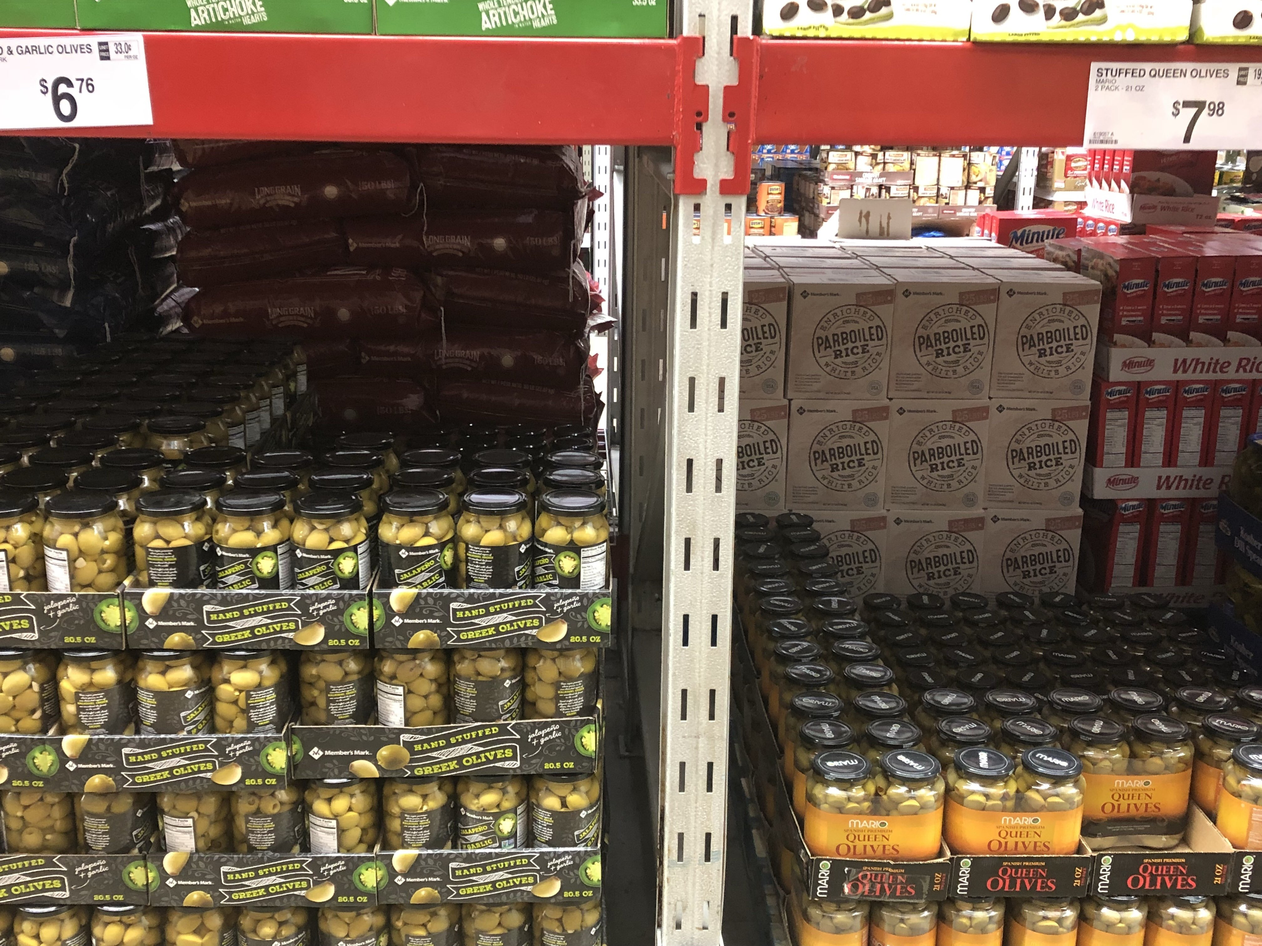Keto Grocery Items at Sam's Club