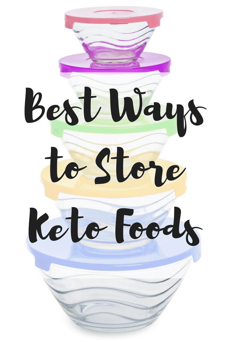 Store Keto Foods