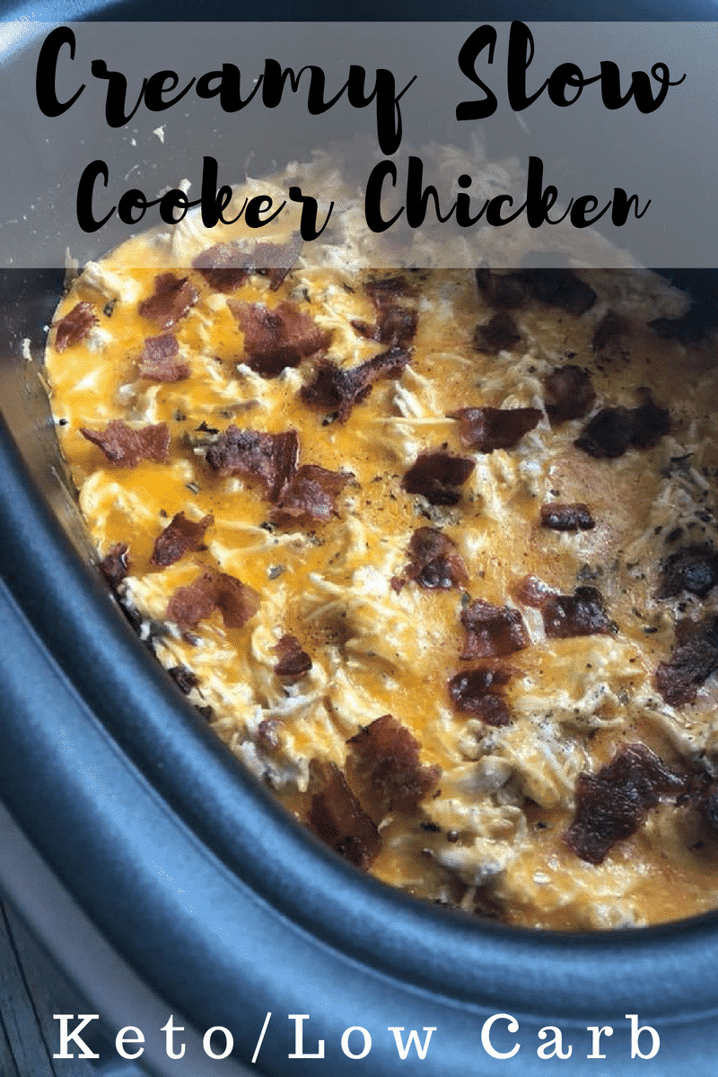 Make our Slow Cooker Cheesy Chicken Recipe with Bacon as a perfect family-friendly recipe that takes little effort but creates big taste! A perfect Crockpot meal for kids and adults. This cheesy chicken and bacon recipe is perfect for keto diet plans.