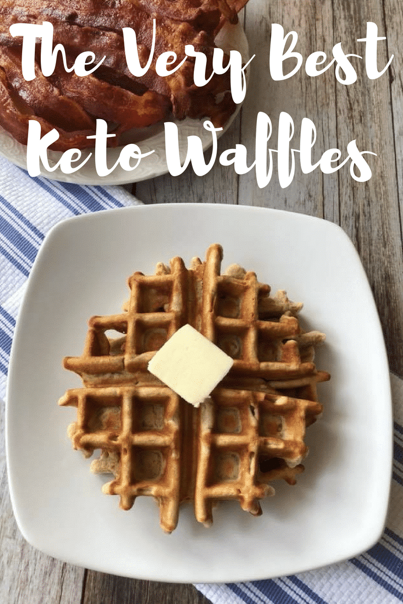 The Very Best Keto Waffles {low carb}