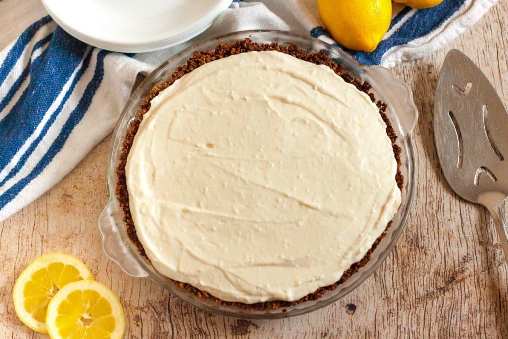 Keto lemon pie filling