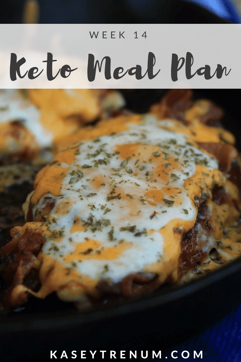Keto Meal Plan Week 14