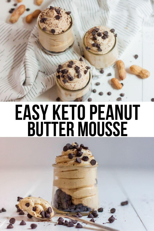 peanut butter whipped cream recipe