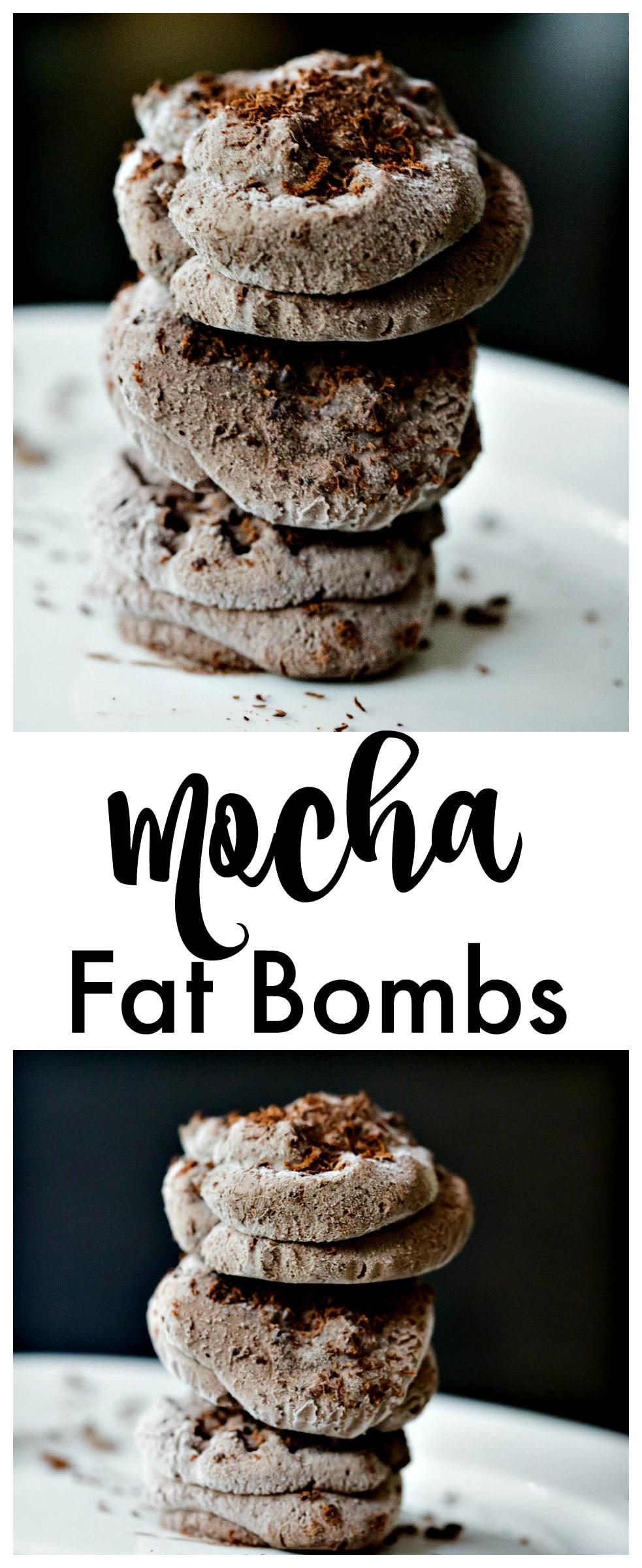 Mocha Fat Bombs