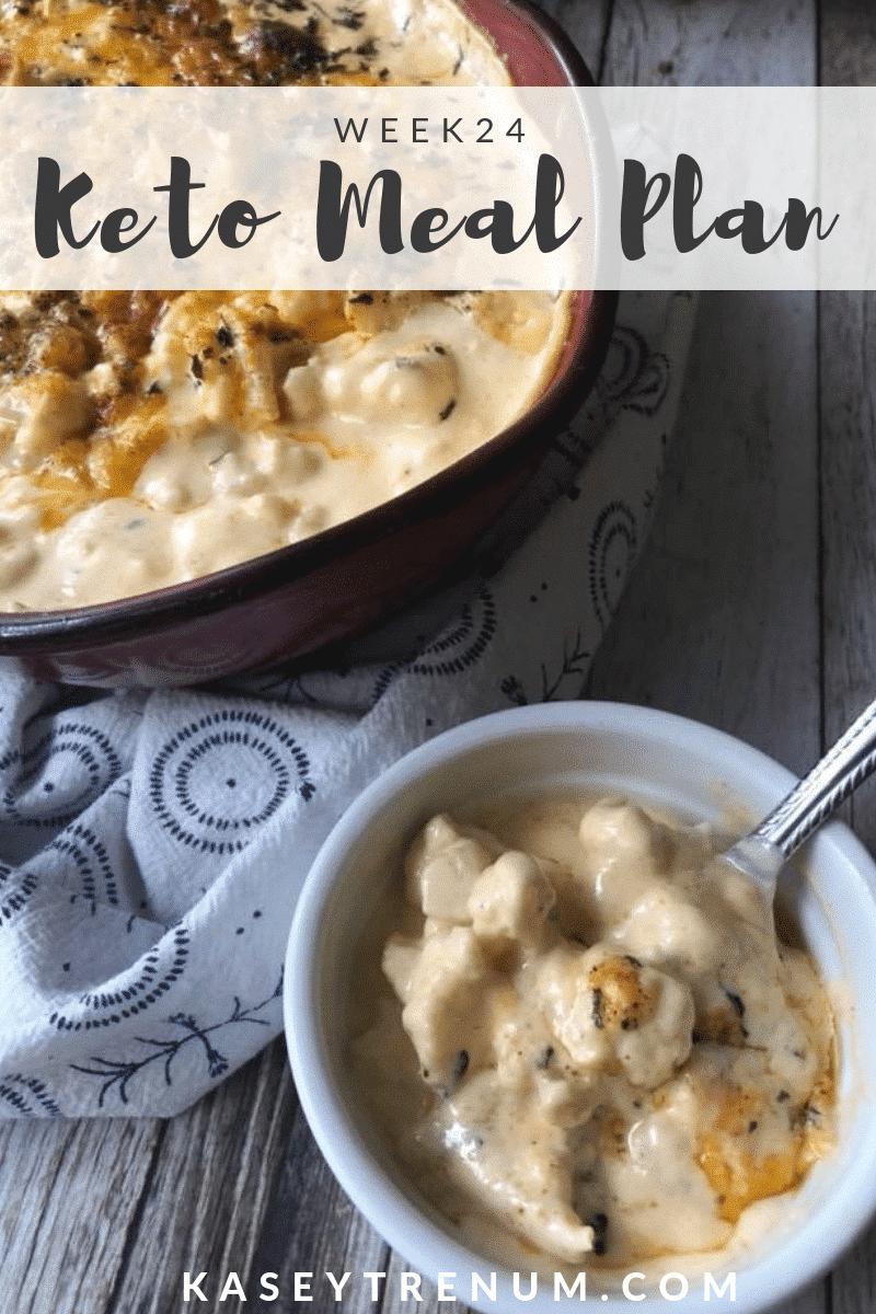 Keto Diet Plan / Keto Meal Plan 24