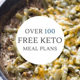 0ver 100 free keto meal plans