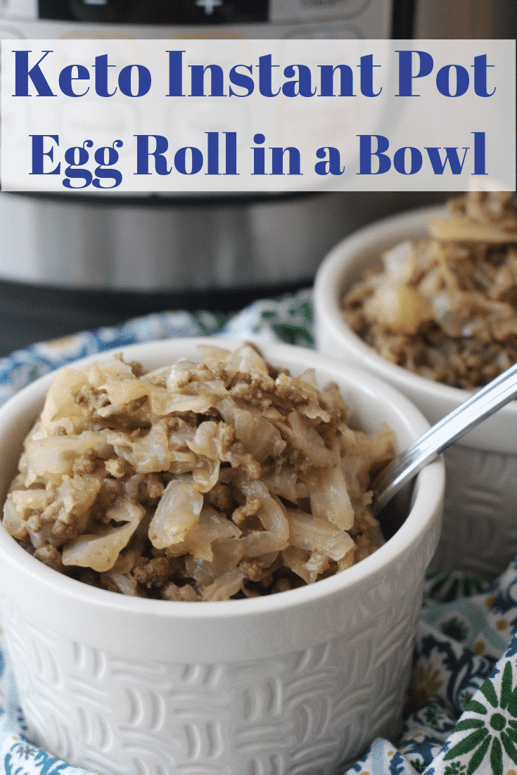 Keto Egg Roll in a Bowl (Instant Pot Recipe)