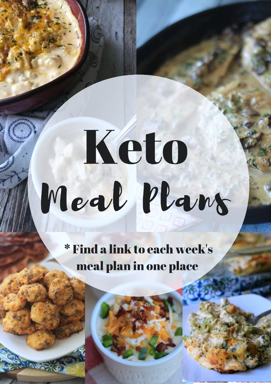 Low Carb Keto Meal Plan Free