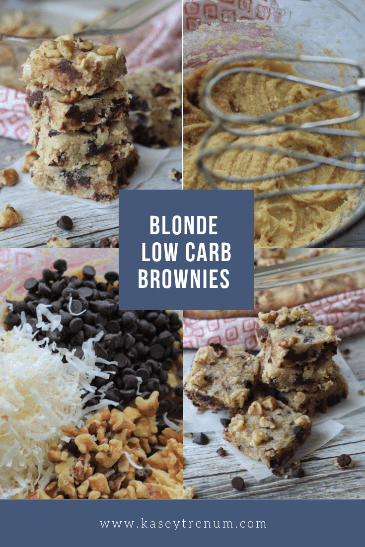 These Blonde keto Brownies are simple to make and absolutely delicious.