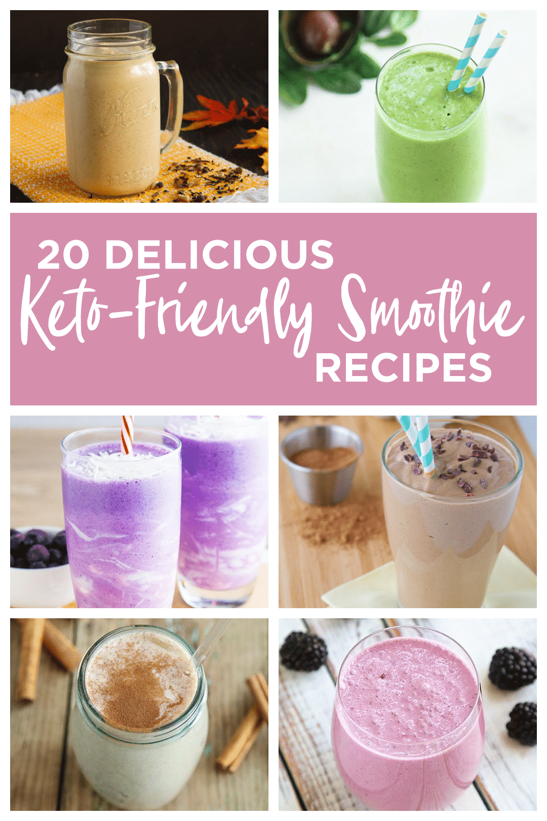Easy Keto Smoothie Recipes: 20 Delicious Recipes