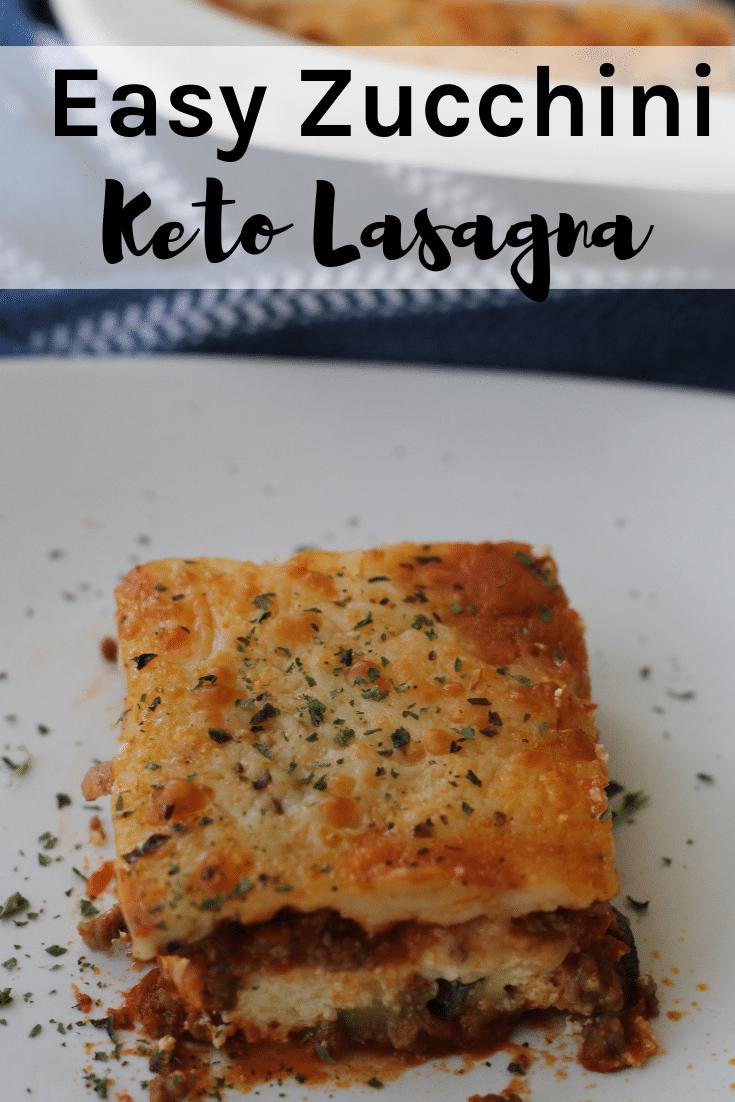Keto Zucchini Lasagna Recipe: Amazingly Delicious