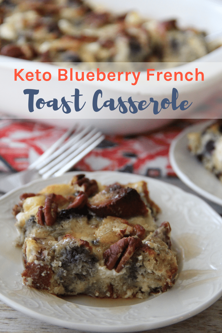 Waking up to a hearty and delicious Keto breakfast is the perfect way to start the day! This Keto Blueberry French Toast Casserole is an amazing balance of sweet and delicious, with just a nice taste of blueberry.
