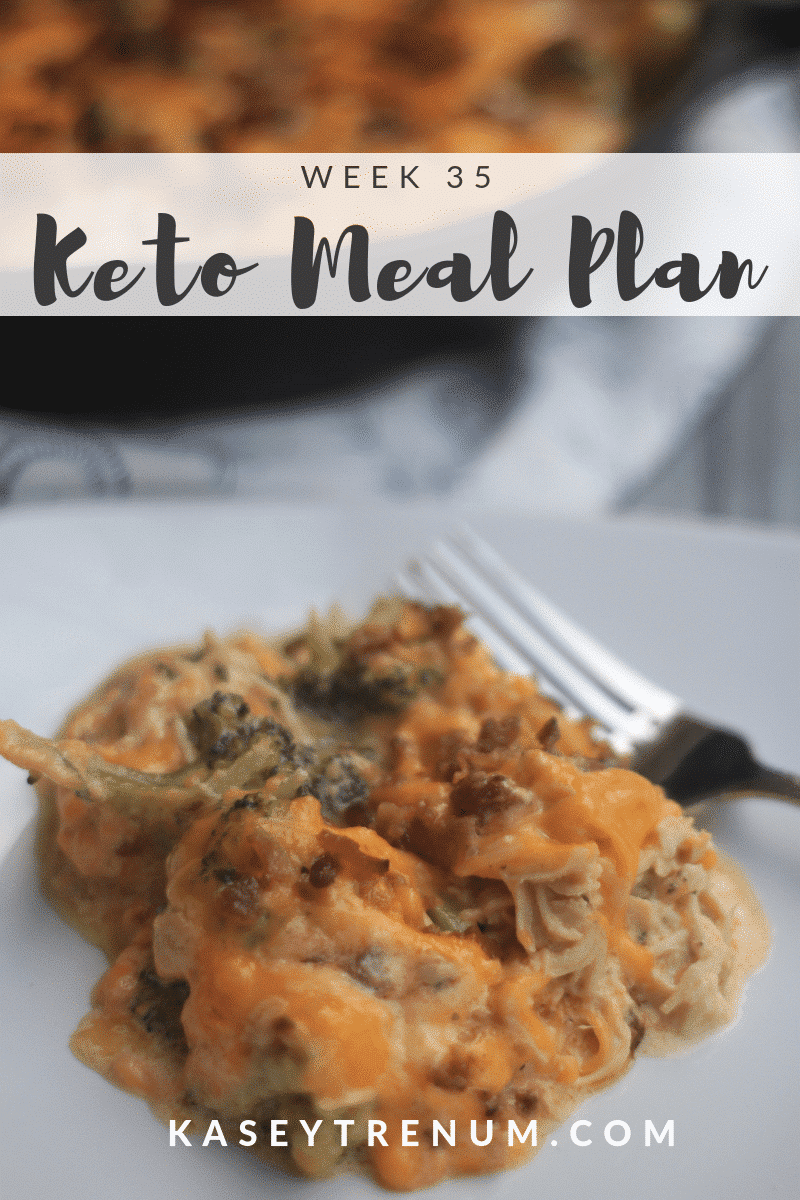 This Keto Meal Plan to Lose Weight is my family's meal plan that I post for inspiration each week.
