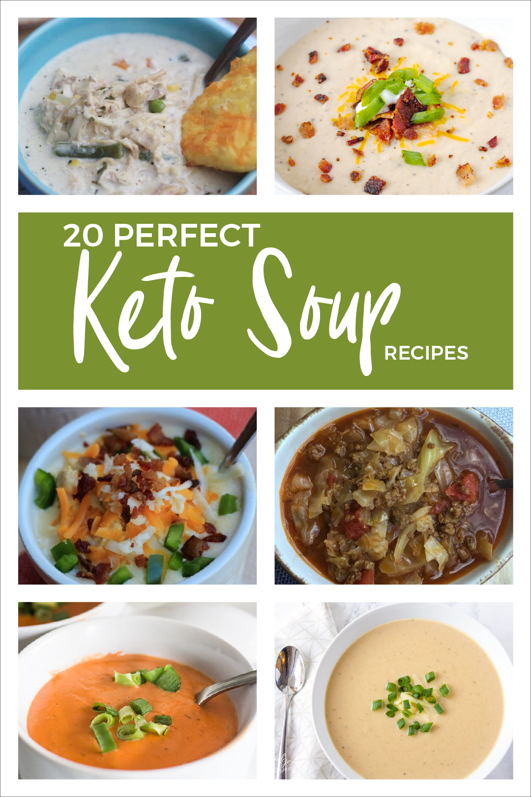 These 20 Keto soup recipes are certain to keep your bellies and your taste buds warm and toasty this cold, winter season.