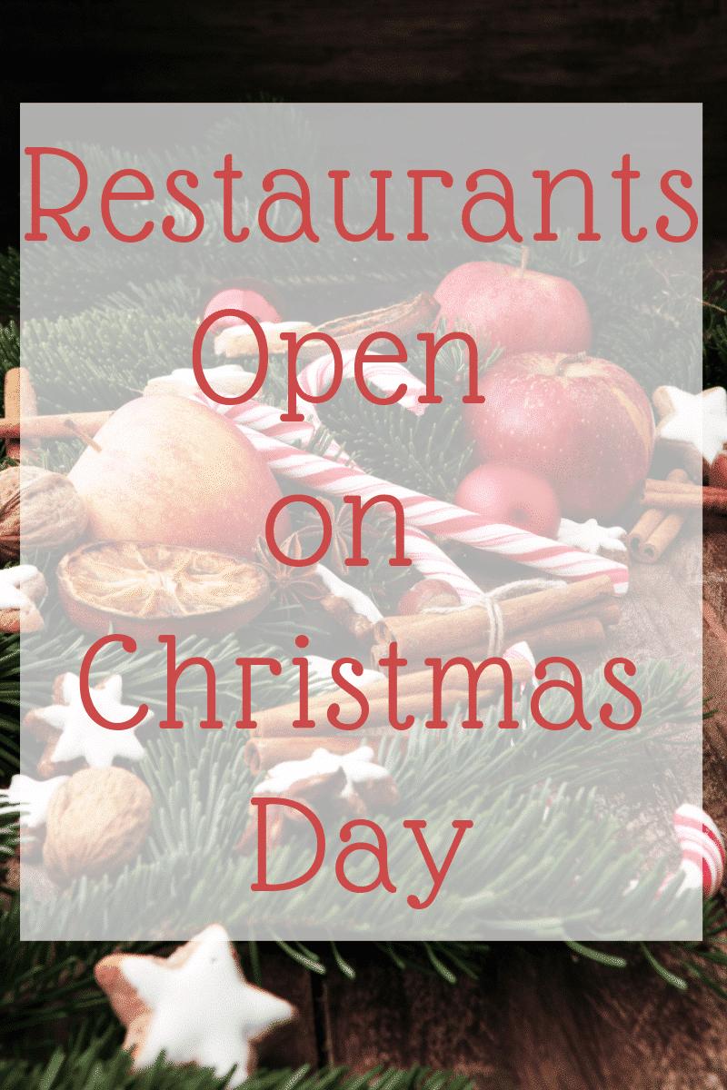 Restaurants Open on Christmas Day | Kasey Trenum
